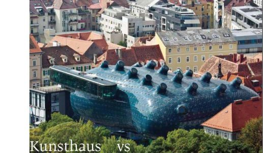 두 건축 이야기 2: 쿤스트하우스와 홀론 디자인 박물관