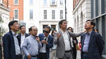 부산시 방문단 런던 도시재생 답사